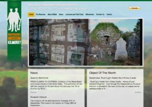 Independence Museum website. Design and development by Kieran O'Connor Design, Cork, Ireland